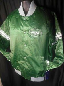 New York Jets NFL Mens Quilt Lined Front Snaps Starter Jacket