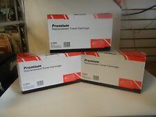 LOT of 3 Premium Replacement Toner Cartridges 505X HP-LaserJet P2050 P2055