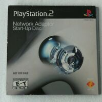 Playstation 2 Network Adaptor Start-Up Disc CD