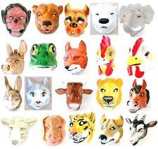 Tiermaske aus Hartplastik 20 Masken für Erwachsene Karneval Fasching Maske Tier