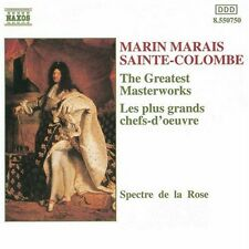 Greatest Masterworks - Marais/Sainte-Colombe (1994, CD NEUF)