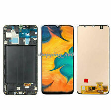 """OLED FOR 6.4"""" SAMSUNG A30 2019 A3050 SM-A305GT A305F LCD TOUCH SCREEN Frame USPS"""