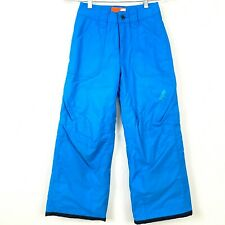 ORAGE Prime Waterproof Snow Pants Ski Snowboard Youth Blue Size 8 Small Vented