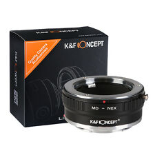 K&F Concept Adapter mark II for Minolta MD MC Lens to Sony E-Mount Camera a7R2