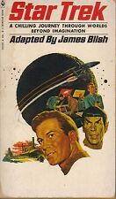 STAR TREK 1 by James Blish  1972 paperback book (15th printing)