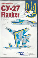 Cutting Edge CY-27 Flanker CED48024 Decal Sheet