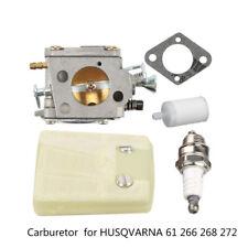Set Carburatore per Husqvarna 61 268 266 272 XP Motosega Ricambio Casa