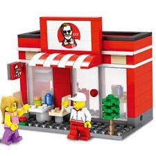 Blocks Retail Store |  KFC restaurant fried chicken 3D - Compatible with LEGO