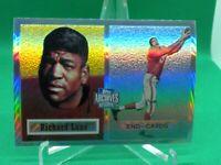 1957 Topps #85 Dick Lane HOF ROOKIE Chicago Cardinals 2001 Chrome REPRINT