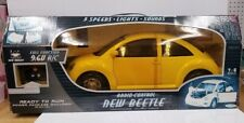 Vintage New Bright 1:6 Scale  Radio Control R/C 9.6v New Beetle Remote control