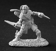 1 x DILEAN SOFTSTEP rogue -DARK HEAVEN LEGENDS REAPER miniature jdr rpg 03245