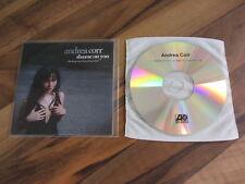 ANDREA CORR Shame On You 2007 UK promo acetate CD single corrs