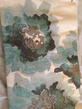 TARGET Threshold Blue Climbing Vine Floral Curtain Panel Gray Blue 95L NWOP