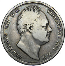 More details for 1834 halfcrown - william iv british silver coin