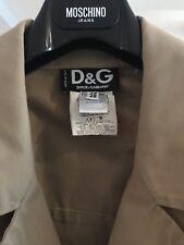 Luxus Dolce & Gabbana D&G Ittierre Herren Jacke, Gr.48 Beige / Milita wie NEU !