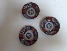Set of 3 Imari bowls