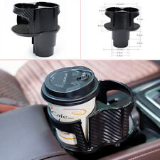 Car Multi Cup Case Holder Drinking Bottle Holder ABS for Car Center Console Well