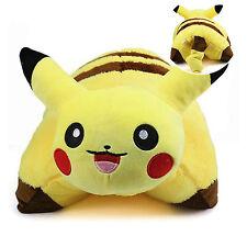 Cute Pokemon Pikachu Pillow Cushion Pet Plush Stuffed Soft Toys Dolls Home Decor