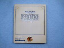 1964/65 TORONTO STAR WEEKLY NHL HOCKEY PHOTO ALBUM PANEL CHICAGO BLACK HAWKS MK