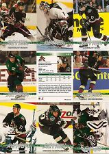 2003-04 ITG In The Game Action Phoenix Coyotes Complete Team Set (20)