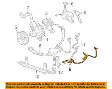 Cadillac GM OEM 05-11 STS-Power Steering Return Hose 25950911