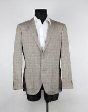 Yves Gerard Herren Globus Men Linen Jacket Blazer Size EU48 UK38, Genuine