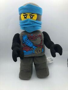 Official 2017 LEGO Ninjago Nya Blue Ninja Warrior Minifigure Plush Stuffed Toy