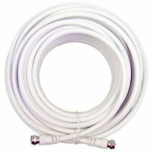 weBoost RG6 LOW-LOSS WHITE COAX CABLE, 75 OHM 950630