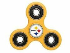 Pittsburgh Steelers Diztracto Spinner Logo 3-way Toy Stress Fidget Hand Finger