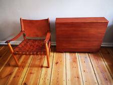 Safari Sessel Chair danish design original vintage mid century oak no teak