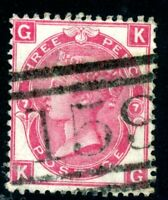 GREAT BRITAIN #48 Plate 7 USED CAT $62.50