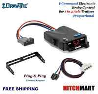 I-COMMAND TRAILER BRAKE CONTROL w PLUG IN ADAPTER FOR 1995-2009 DODGE RAM PICKUP