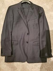 Recent Giorgio Armani G LINE Suit 44R 44 R Gun Metal 94% Wool 6% Cashmere