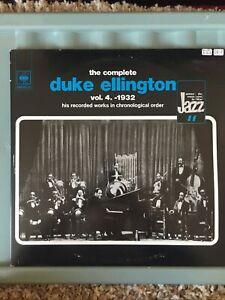 The Complete Duke Ellington Vol 4 1932. Chronological. 2 Discs. Lp