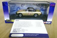 Corgi VA13000 MGB White Gold 50th Anniversary Model Ltd Edition Factory Sample