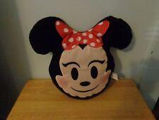 Disney Minnie Mouse Emoji Plush Soft Pillow Plush Doll Figure Kids Bedding Decor
