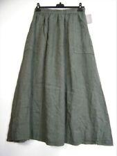 Gonne e minigonne da donna senza marca in lino, in italia