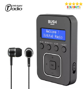 Personal Portable Pocket Handheld DAB Digital & FM Radio W/ Rechargeable Battery
