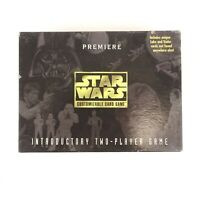 Vintage 1995 Star Wars Premier Customizable Card Game 2-player
