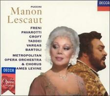 Giacomo Puccini: Manon Lescaut (CD, Oct-1993, 2 Discs, London)