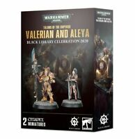 Valerian and Aleya: Talons of the Emperor - Warhammer Black Library - New! BL-02
