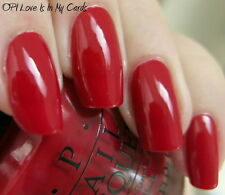 NEW! OPI Nail Polish Vernis LOVE IS IN MY CARDS