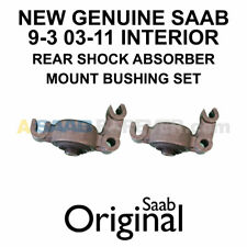 NEW GENUINE SAAB 9-3 SHOCK ABSORBER MOUNT BUSHING SET - Rear 93 03-11 - 12796037