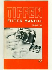 Vintage 1964 Tiffen Filter Manual! Rare Tiffen Filter & Lens Guide Booklet Vol 2
