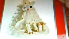 Rudolph The Red Nose Reindeer Carlton Heirloom Christmas Tree Porceline Ornament