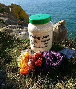 Crafty Jam Natural Solar Dye Kit, Choose Colours & Fibres