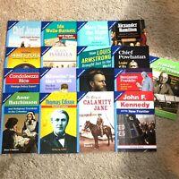 Pearson myWorld Social Studies Biography Leveled Readers Grade 5 ABOVE LEVEL