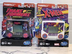 Tiger Electronics X-Men And Transformers Project X LCD Video Game NEW