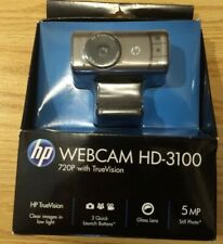 Webcam HD-3100 720p HP Truevision 5MP Quicklaunch Buttons Free Shipping