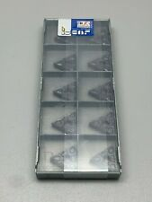 (10) Iscar TNMG 432-TF IC907 Triangular Insert, Double-Sided, 220408-TF